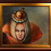 Lucinda with golden apple 1800€
